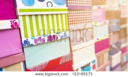 A background image of some colorful presents