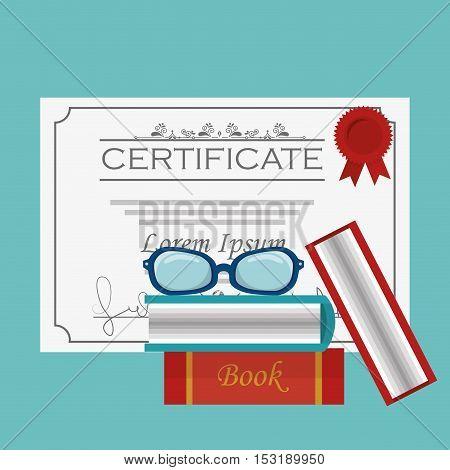 diploma graduation isolated icon vector illustration design