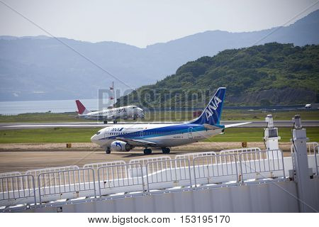 All Nippon Airways (ana) Airplane