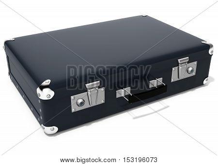 3D Black Briefcase