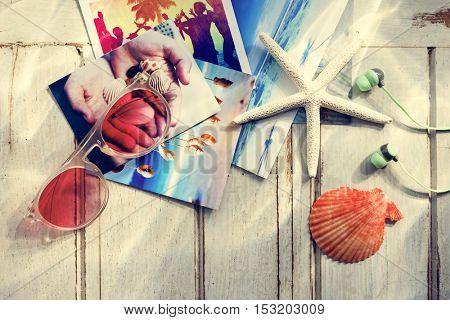 Pictures Starfish Seashells Images Memories Beach Concept