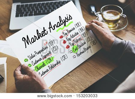 Business Ideas Plan Strategy Concept