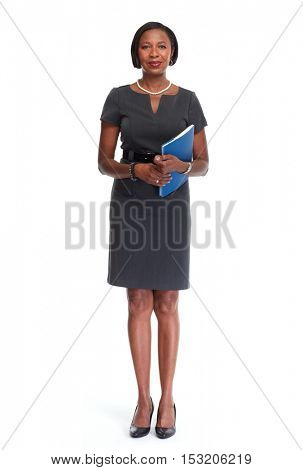 African-American business woman.