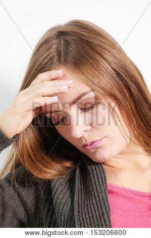 Astonishing Woman Catch On Contemplating