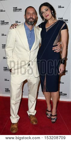 NEW YORK-APR 2: Jewelry Designer Alexis Bittar and TV host Stacy London attend the 2015 Center Dinner at Cipriani Wall Street on April 2, 2015 in New York City.