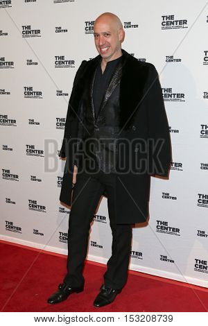 NEW YORK-APR 2: TV Personality Robert Verdi attends the 2015 Center Dinner at Cipriani Wall Street on April 2, 2015 in New York City.
