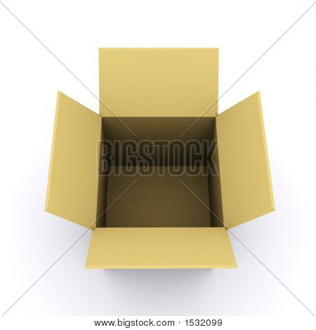 3D Rendered Box