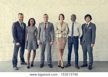 Business Team Office Worker Entrepreneur Concept