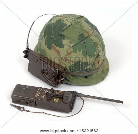 Vietnam Helmet Radio