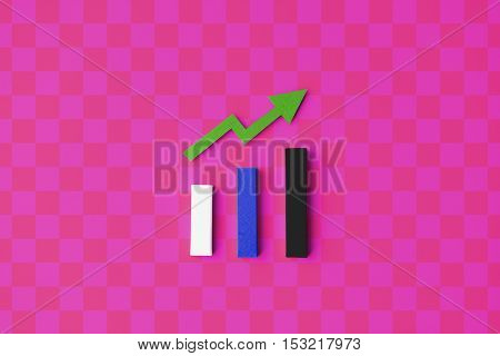 Statistics Strategy Analysis Diagram Information Concept