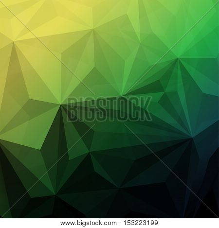 Illustration of  Abstract polygonal geometric triangle background