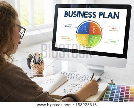 Business Plan Strategy Development Concept
