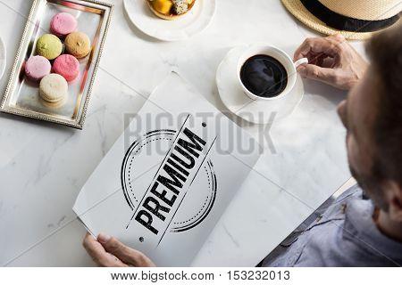 Premium Company Guarantee Concept