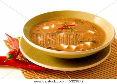 Scharf-saure Suppe