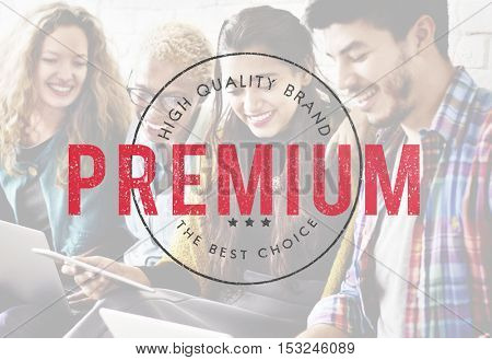 Premium Exclusive Quality Brand Concept