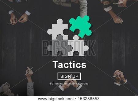 Tactics Planning Process Strategy Tactics Vision Concept