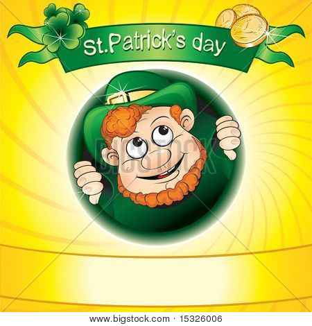 St.Patrick's day vector background