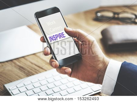 Inspire Innovation Business Creative Words Concept