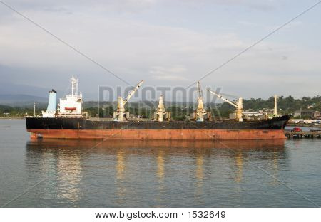 Unloading Cargo Freight