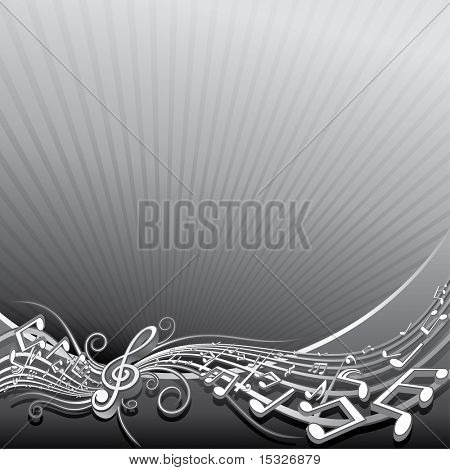 Abstract music background template  for your text or design--to see similar images, please visit my Gallery