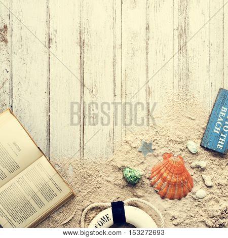 Sea Ocean Decorations Book Concept