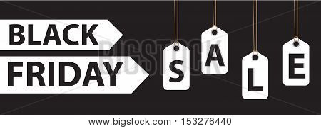 Black Friday. Day sales. Discounts Special Offers. Vector illustration
