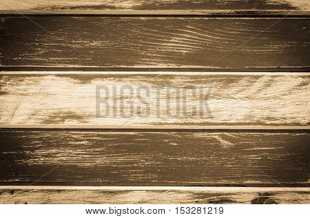 Background of wood. Black and white and brown antique board.