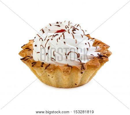 Cake Basket With Cream And Jam, Is Watered Chocolate Syrup