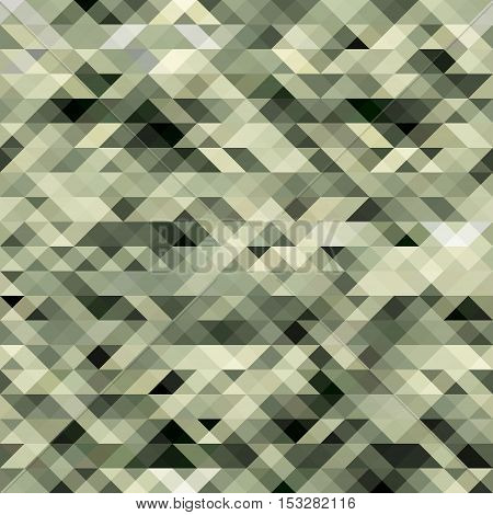 Abstract modern geometric background. Vector triangle grey background for webdesign.