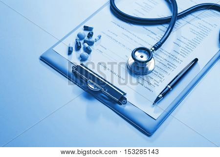 Doctor tools and patient medical history