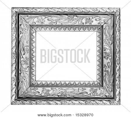 Vintage silver ornate frame