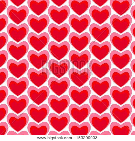hart background red vector valentines day hart background red vector valentines day