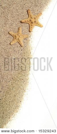 Starfish and sand - vacation concept, similar available
