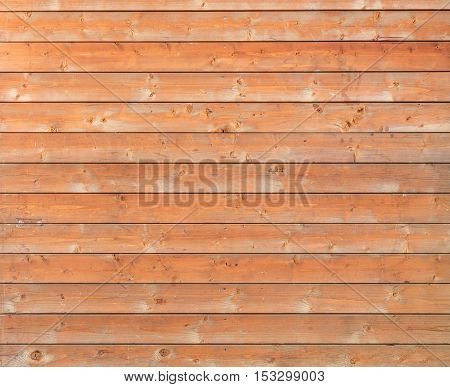 Wall made of wooden planks background or texture.