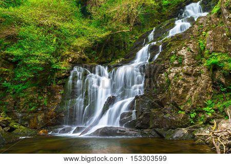 Waterfall in Killarney National Park, Ireland