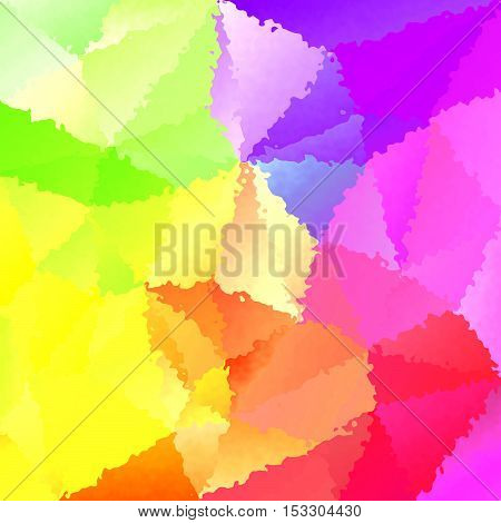 abstract full spectrum rainbow stained pattern texture background