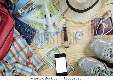 Travel Concept With Accessory