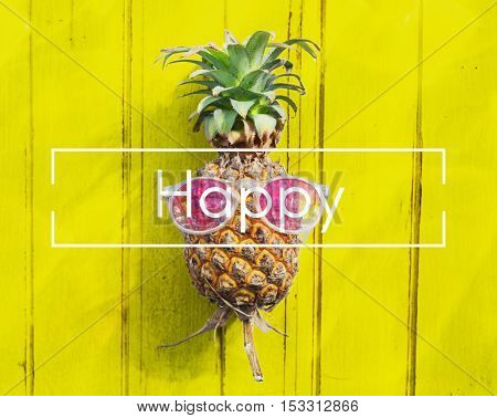 Happy Attitude Cheerful Playful Relaxation Choice Concept