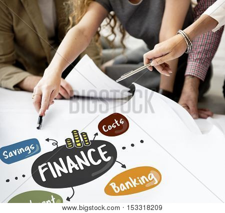 Finance Savings Costs Investment Banking Money Concept