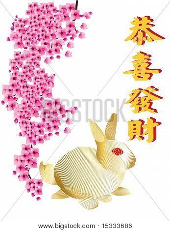 Wishing you a prosperous rabbit year