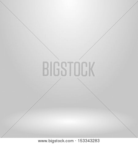 Abstract background for presentation. Empty room illuminated by a spotlight. Vector, eps 10.