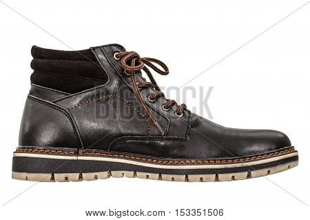 A single new of boot isolated on white background