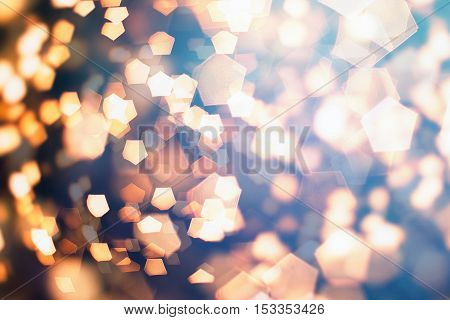 Glitter Trail with Stars Background with space for your text