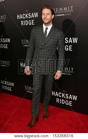 LOS ANGELES - OCT 24:  Luke Bracey at the