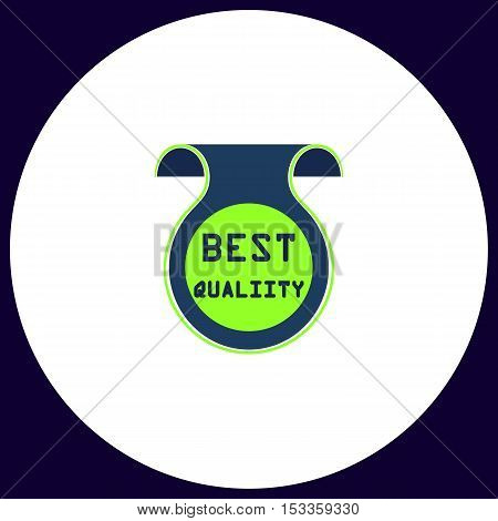 Best quality Simple vector button. Illustration symbol. Color flat icon