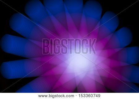 Abstract Night Lights Background