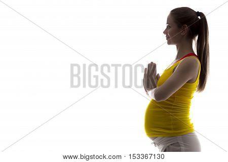 Prenatal Yoga, Namaste
