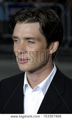 Cillian Murphy at the Los Angeles premiere of 'Red Eye' held at the Mann Bruin in Westwood, USA on August 4, 2005.
