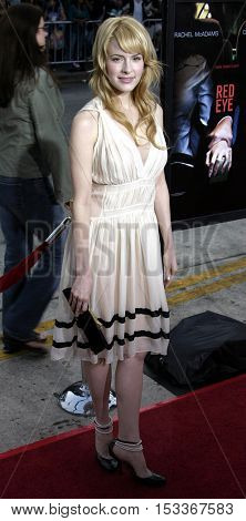 Jenny Wade at the Los Angeles premiere of 'Red Eye' held at the Mann Bruin in Westwood, USA on August 4, 2005.