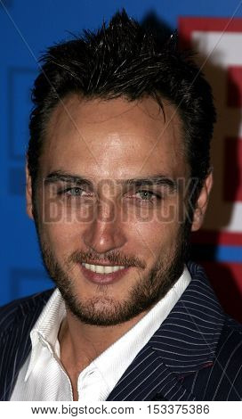 Alex Quinn at the E! Entertainment Television's Summer Splash Event held at the Roosevelt Hotel in Hollywood, USA on August 1, 2005.